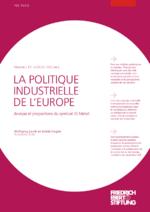 La politique industrielle de l'Europe