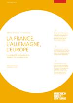 La France, l'Allegmagne, l'Europe